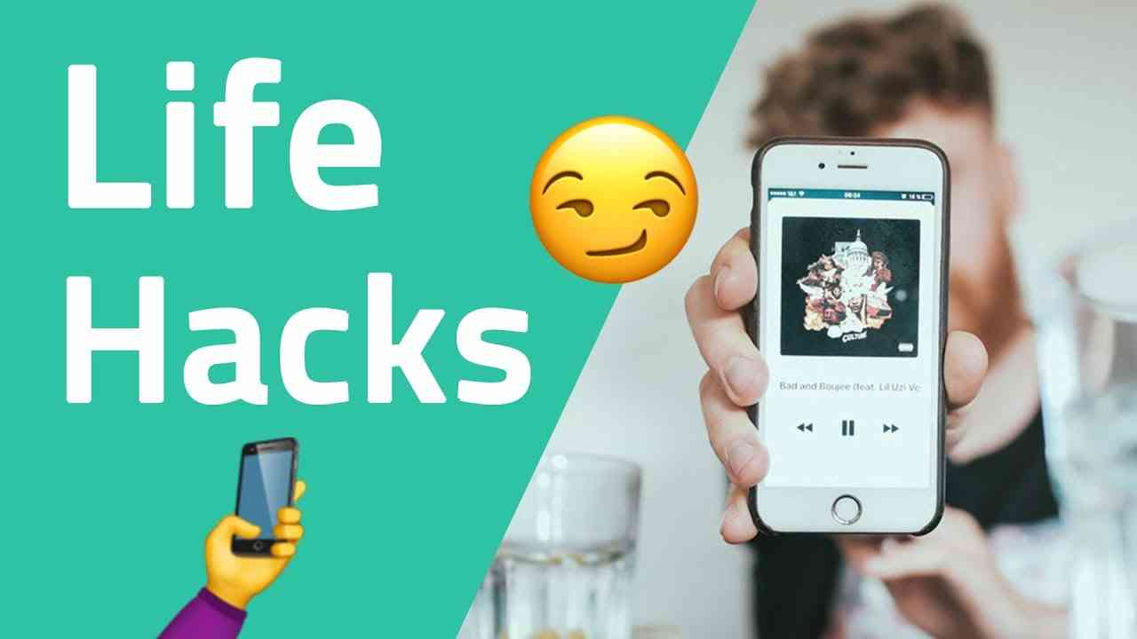 7 handy life hacks f r deinen smartphone alltag android ios neuland tips. Black Bedroom Furniture Sets. Home Design Ideas